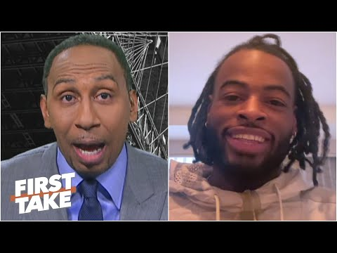 Stephen A. tries to sell RB Najee Harris on playing for the Steelers | First Take