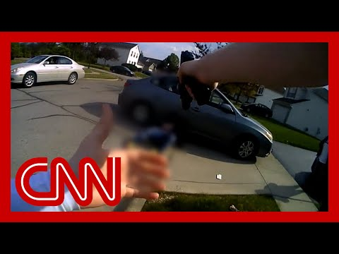 Body cam video shows cop shooting Black teen who had charged two women with a knife