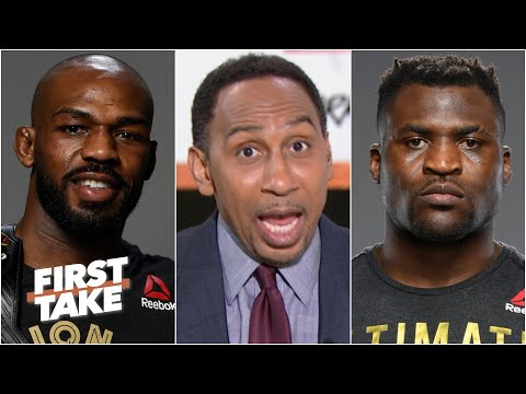 Stephen A. would declare Jon 'Bones' Jones the greatest ever if he beat Francis Ngannou | First Take