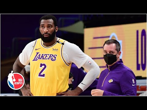 Andre Drummond exits with toe injury in Lakers debut vs. Bucks [FULL GAME HIGHLIGHTS] | NBA on ESPN
