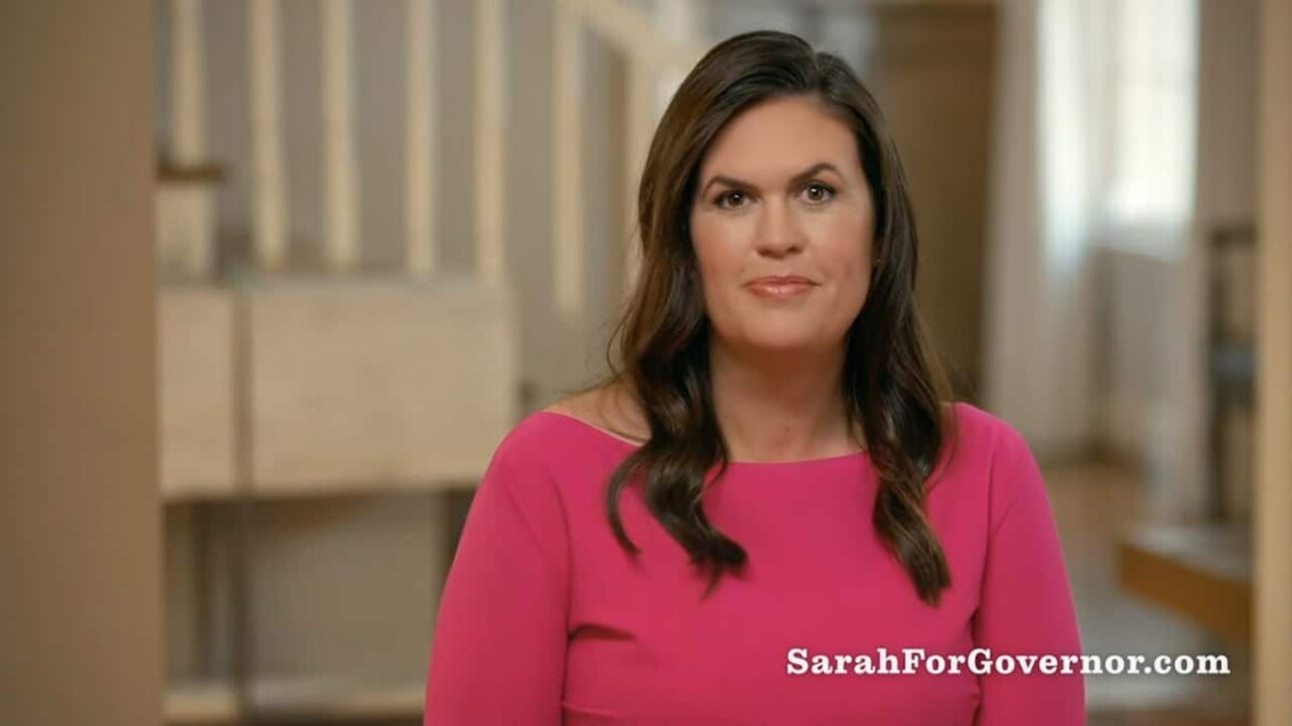 Sarah Sanders raises nearly $5M in less than three months for Arkansas governor race