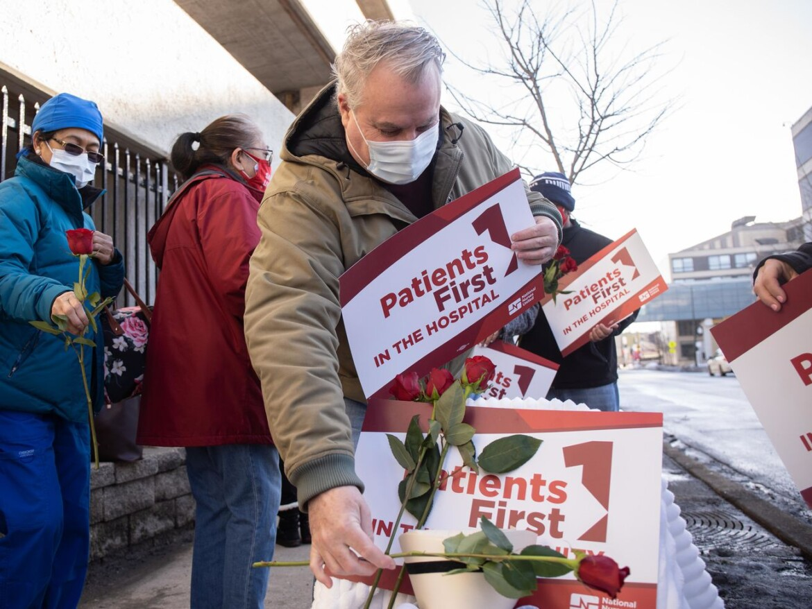 Scarred by pandemic, labor and allies mourn, then mobilize