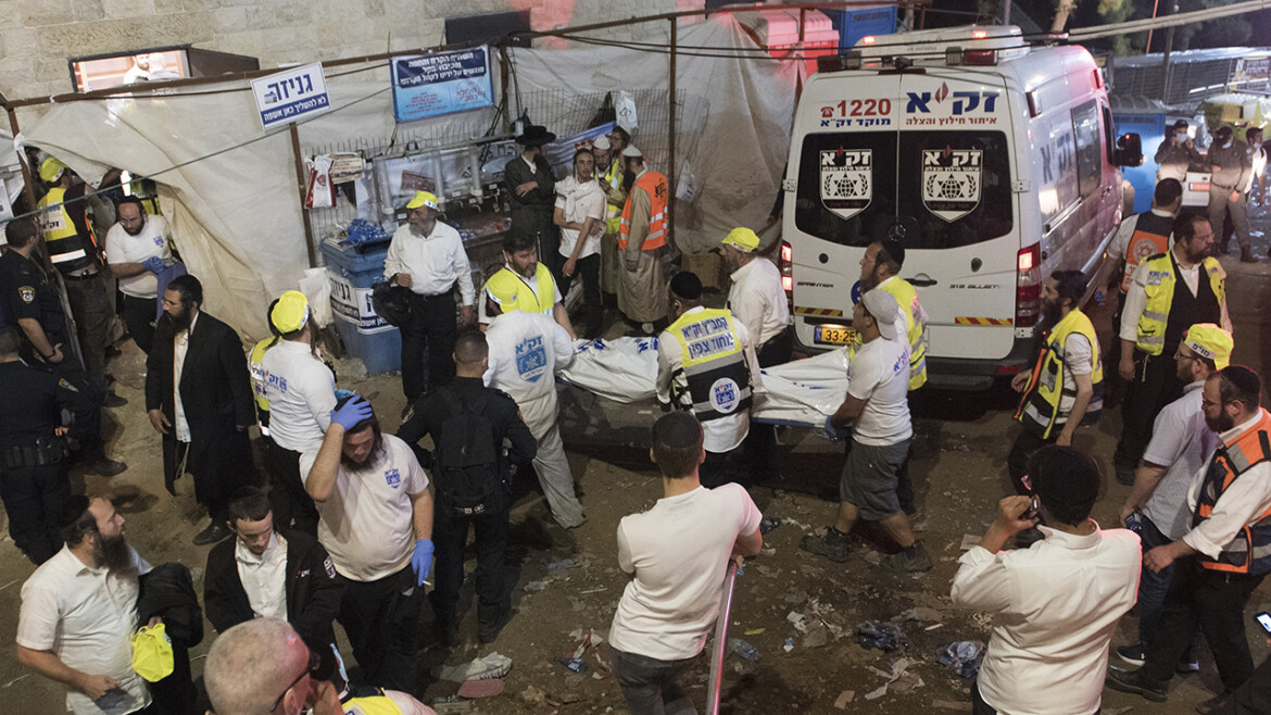 Israel stampede: At least 44 killed at religious festival in Israel