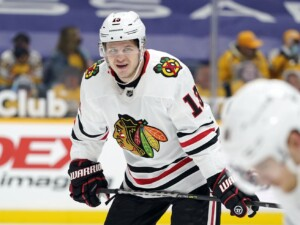 Blackhawks trade Mattias Janmark to Golden Knights for 2 draft picks