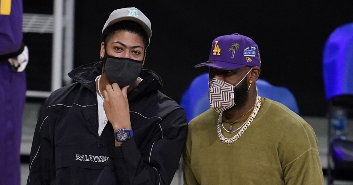 Feeling '100% healthy,' Anthony Davis plans to play for Lakers on Thursday night