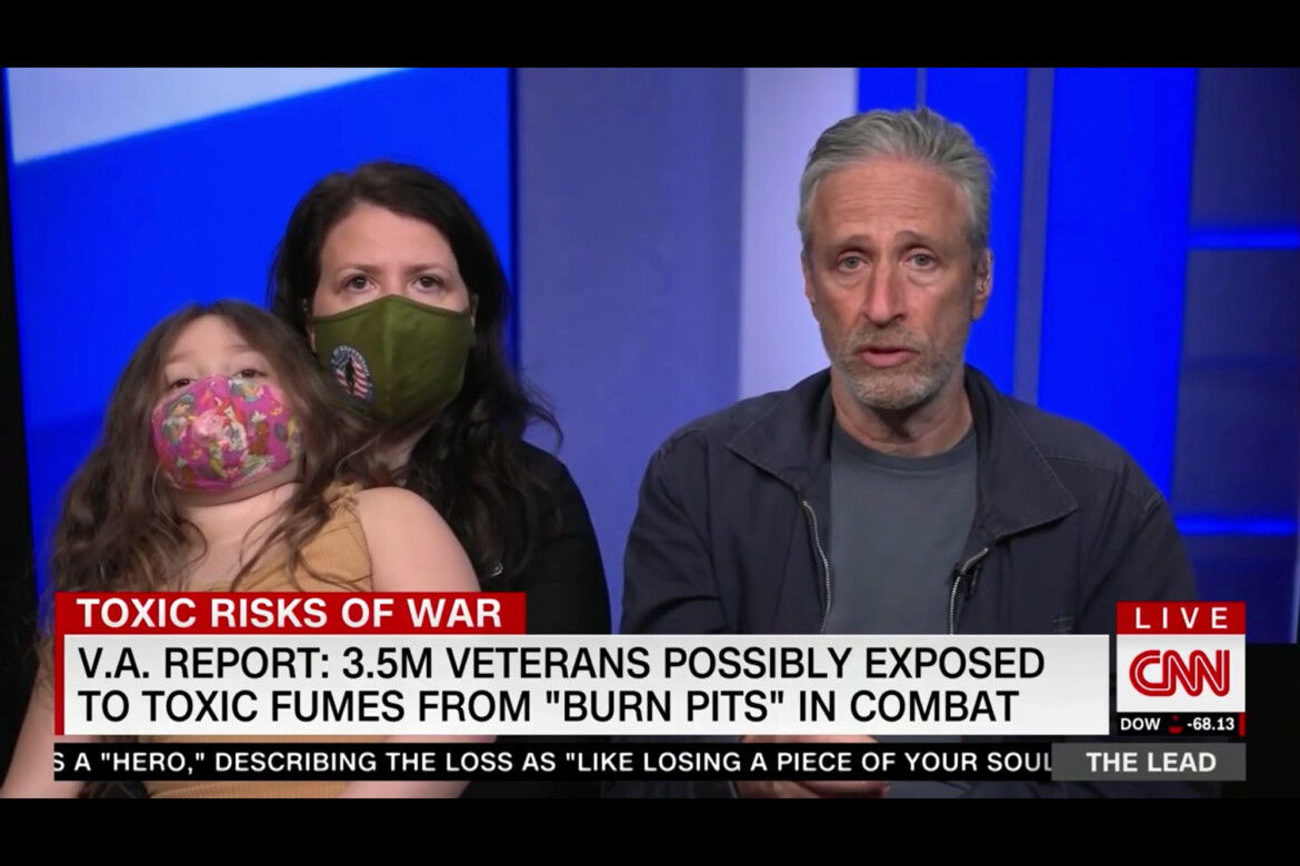 Jon Stewart Goes to Washington to Fight for Vets