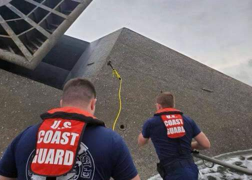 Coast Guard divers hope to reach 12 missing in capsized ship