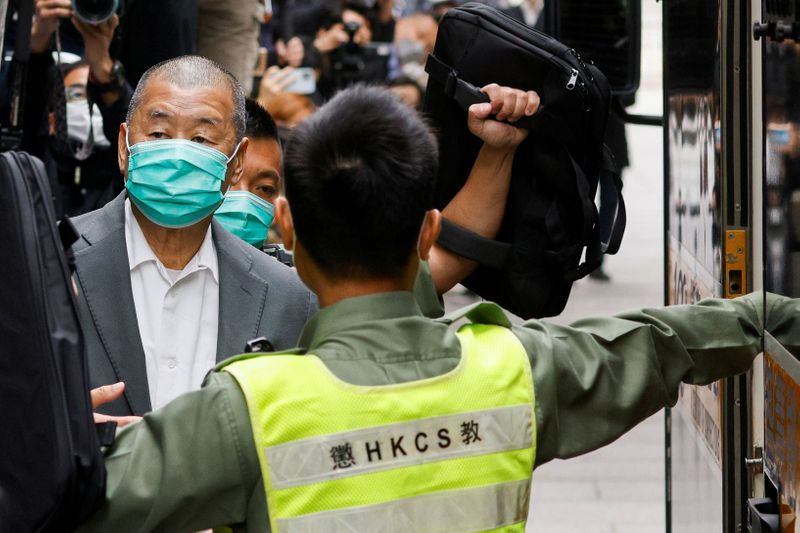 Hong Kong media tycoon Jimmy Lai faces 12 months in prison for unauthorised assembly