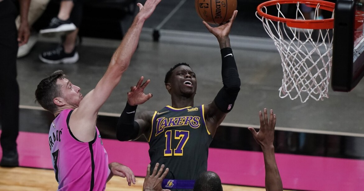 Lakers, missing 2 more players, fall short against the Heat