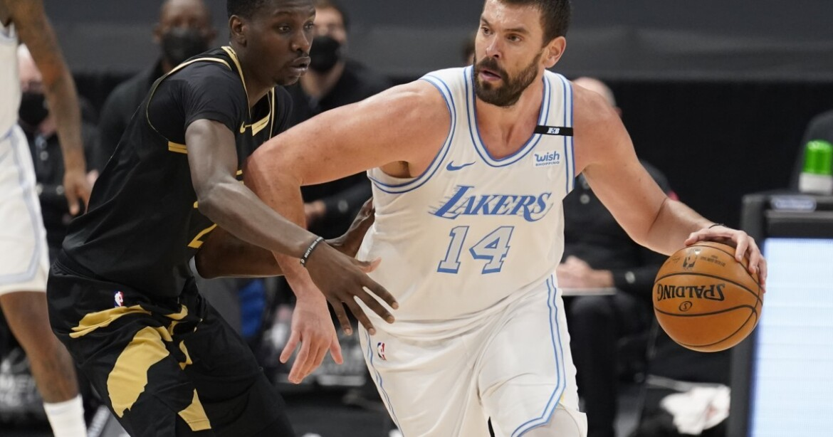 Marc Gasol is in fine form as he helps Lakers beat Raptors