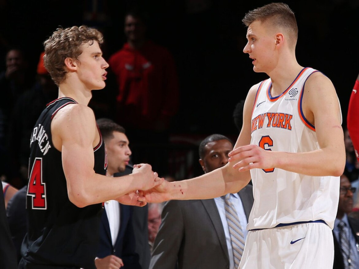 Less of Lauri Markkanen this season has been more for the Bulls