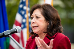 Supervisor Solis helps open COVID-19 vaccination site in Chinatown