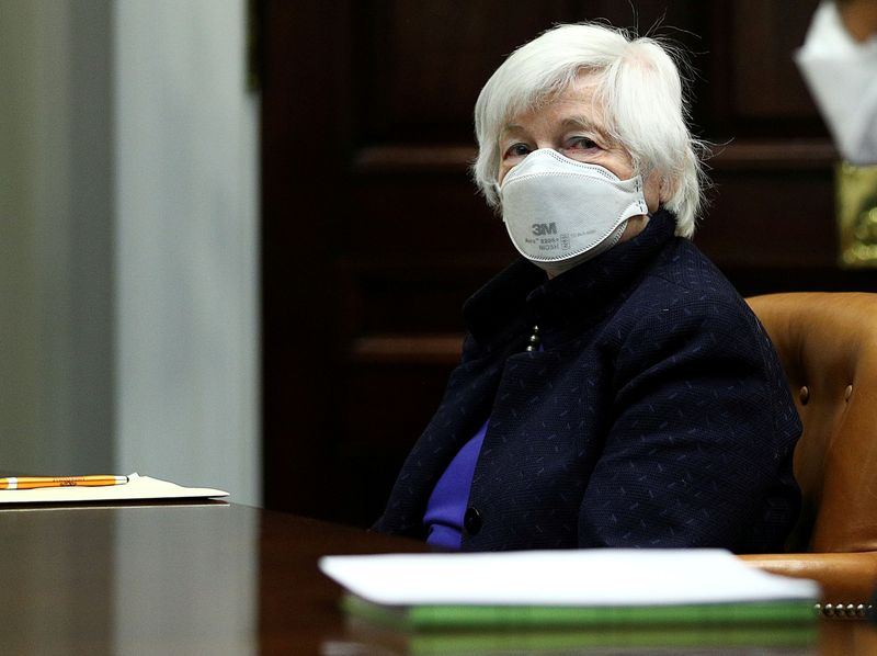 Yellen says more work needed to shore up weaknesses revealed by pandemic