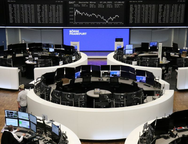 European stocks scale all-time highs after Fed holds stance