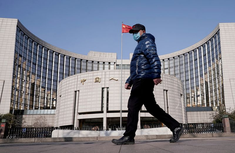 China's March new yuan loans seen rebounding, but tightening fears grow: Reuters poll