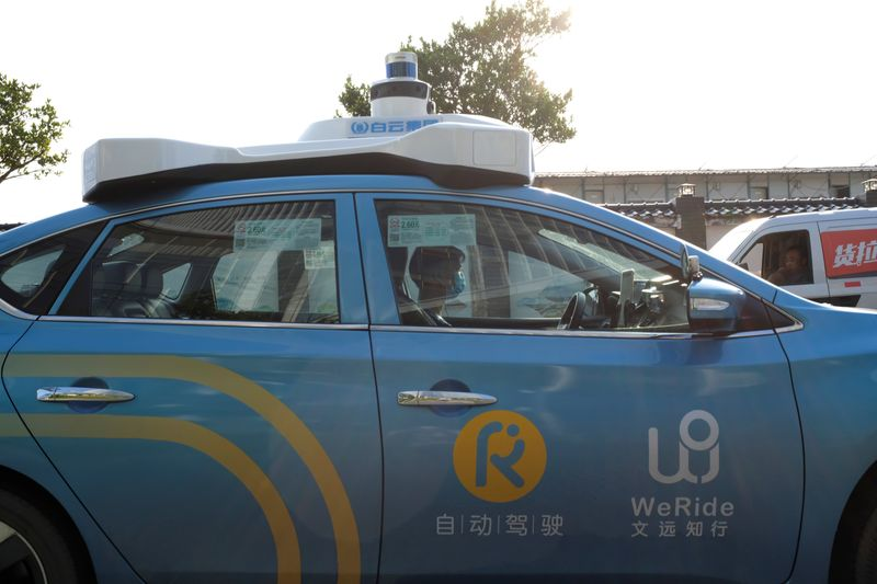 Nissan-backed startup WeRide gets California permit to test driverless vehicles