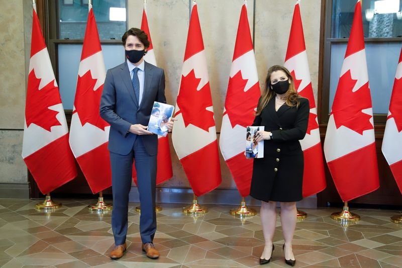 Canada budget rolls out post-pandemic spending plan ahead of likely election