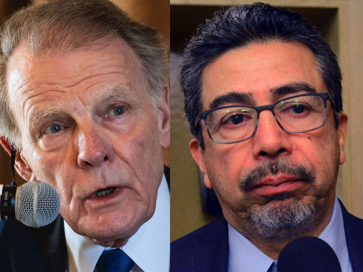 Under federal scrutiny, Madigan, Solis collecting lucrative government pensions