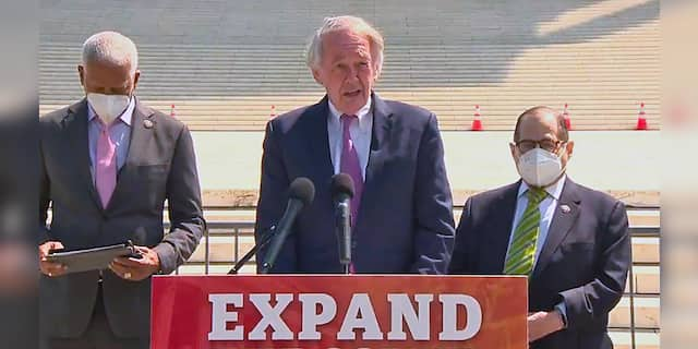 Sen. Markey says Dem court-packing proposal would require filibuster being repealed