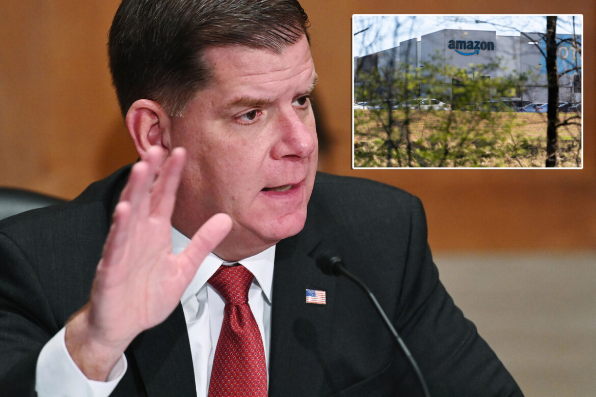 Labor Secretary Marty Walsh predicts more Amazon unionization efforts