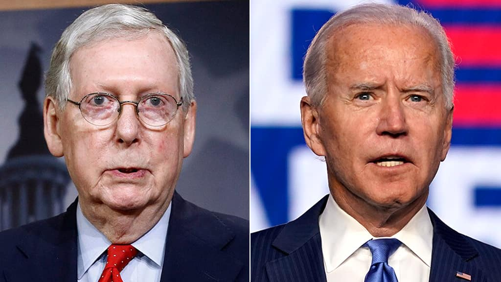 McConnell: Biden is a 'first-rate person' but he's running a 'bold left-wing administration'