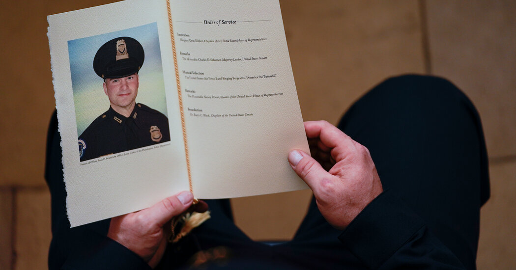 Capitol Police Officer Sicknick Died of Strokes, M.E. Rules