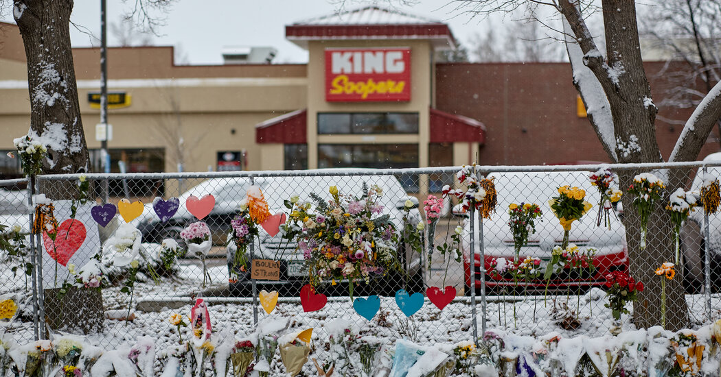 'I Know She's Gone, but Why?': Love and Loss at a Boulder Grocery Store