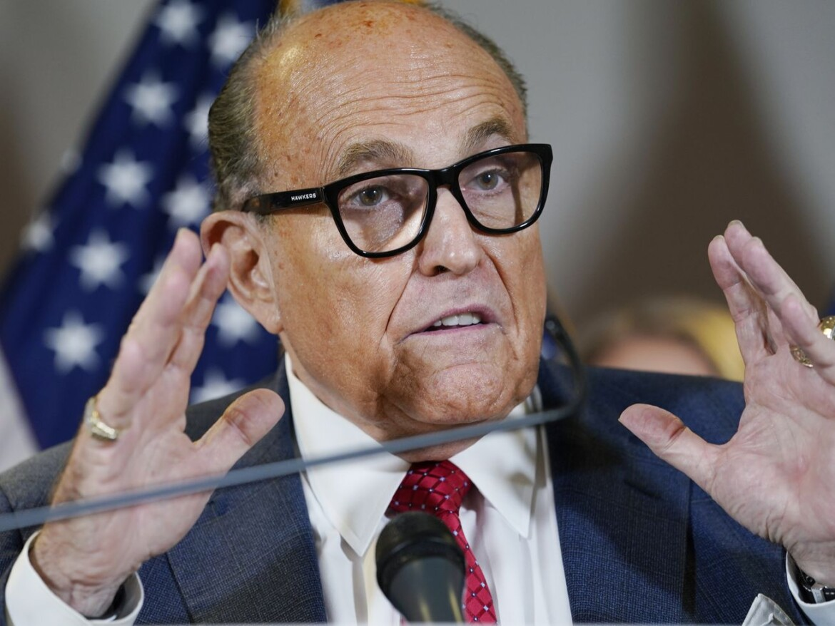 Giuliani probe includes look at move to oust ambassador