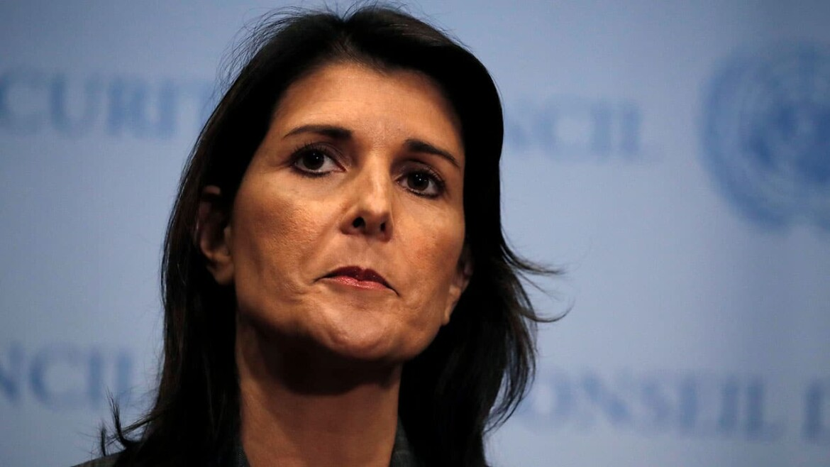 Nikki Haley says she won't run against Trump if he mounts presidential bid in 2024