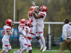 Jimmy Rolder's two interceptions help Marist blank Nazareth