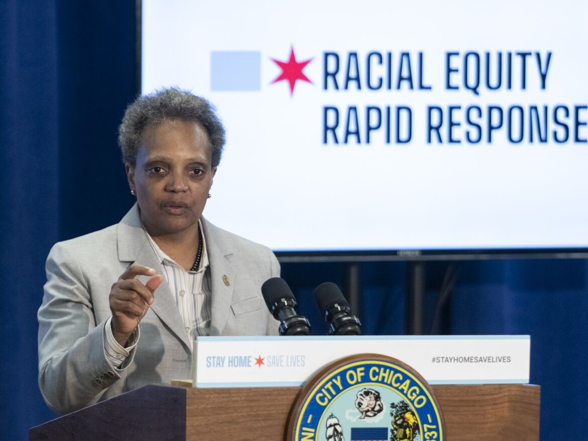 Lightfoot marks first anniversary of 'racial equity rapid response teams'