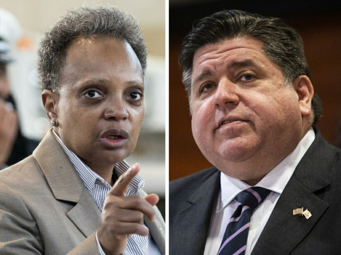 Pritzker signs firefighter pension fix that Lightfoot blasts as 'fiscally irresponsible' product 'of cutting back room deals'