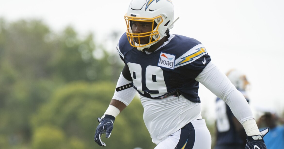 As Chargers coach Brandon Staley examines defensive line, Jerry Tillery stands out