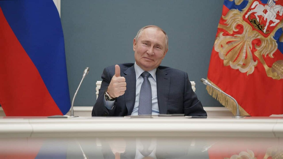 Putin vows a 'quick and tough' Russian response for its foes