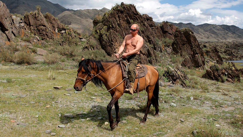 Russian poll finds Putin is Russia's sexiest man
