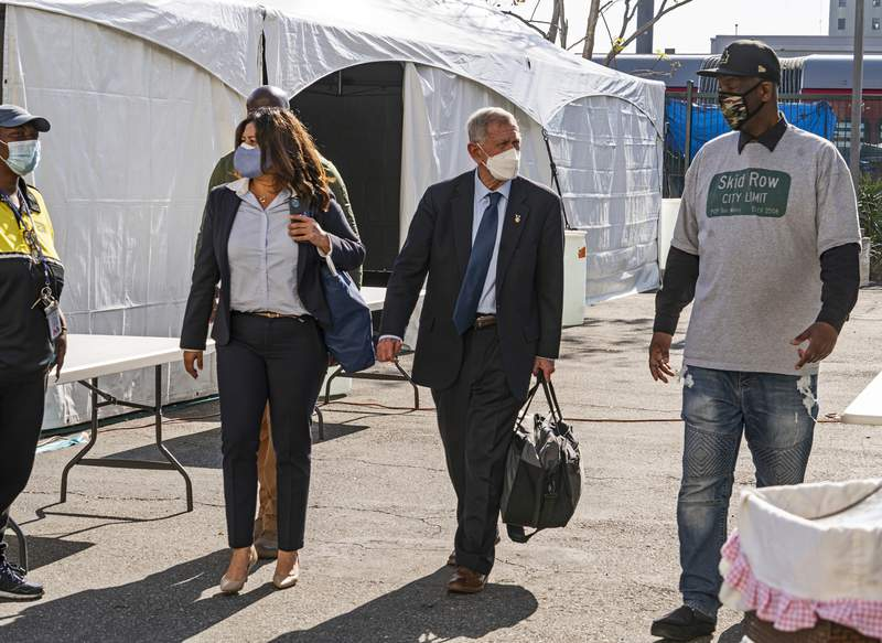 Judge orders LA to offer shelter for homeless on Skid Row