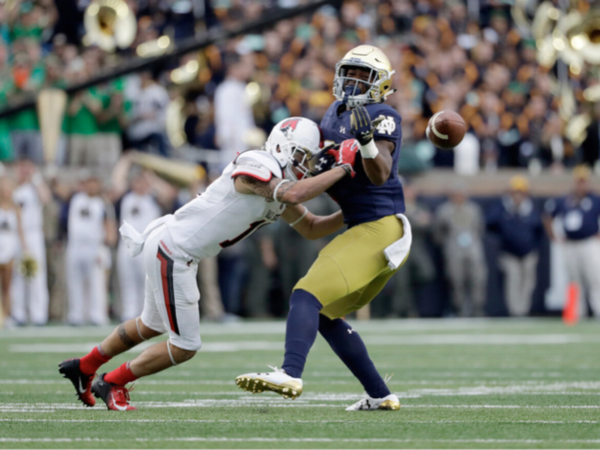 Talented safety Houston Griffith gets second shot with Notre Dame