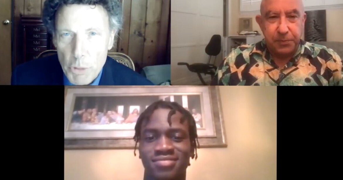 Chaminade sprinter Patrick Ize-Iyamu talks about how he's trying to get faster