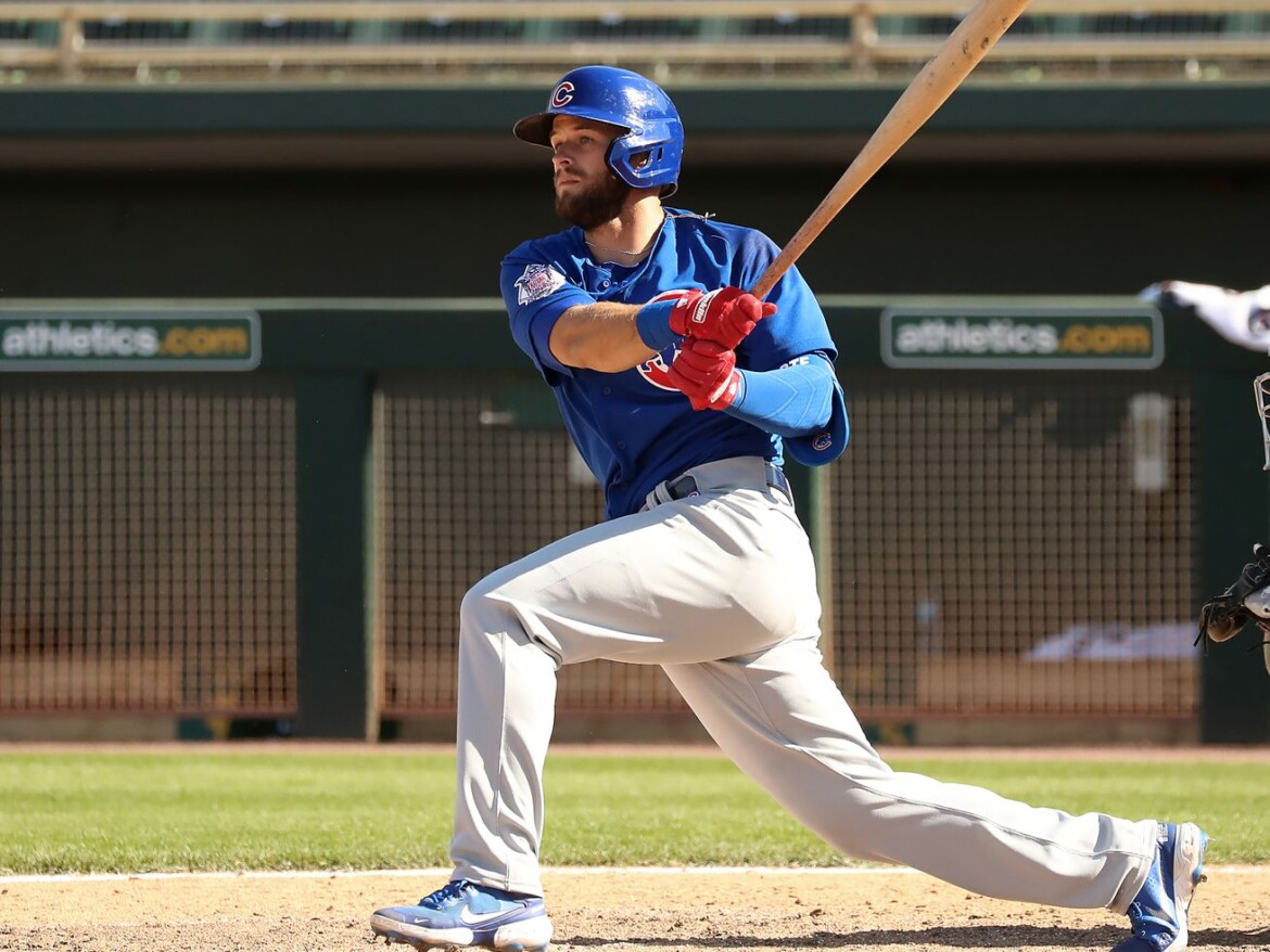 After winning Cubs' second-base job, David Bote's focus remains on mental side of the game