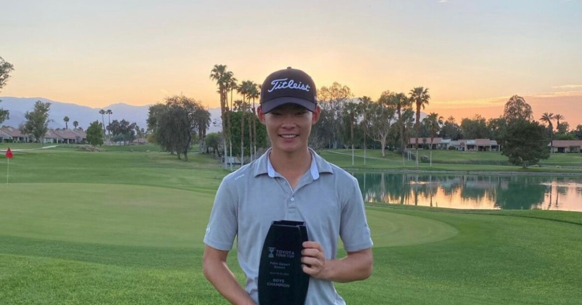 Cerritos golfer Joshua Koo still beaming from 10-under 62 to win tournament