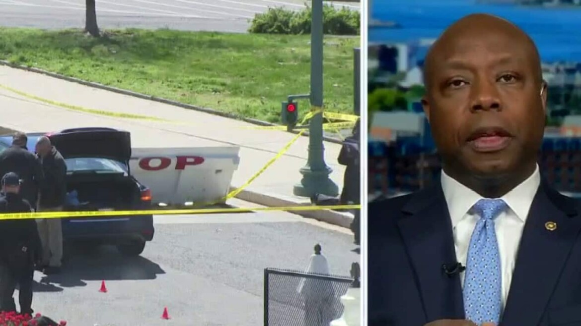 Sen. Scott reacts to deadly Capitol incident leaving officer dead