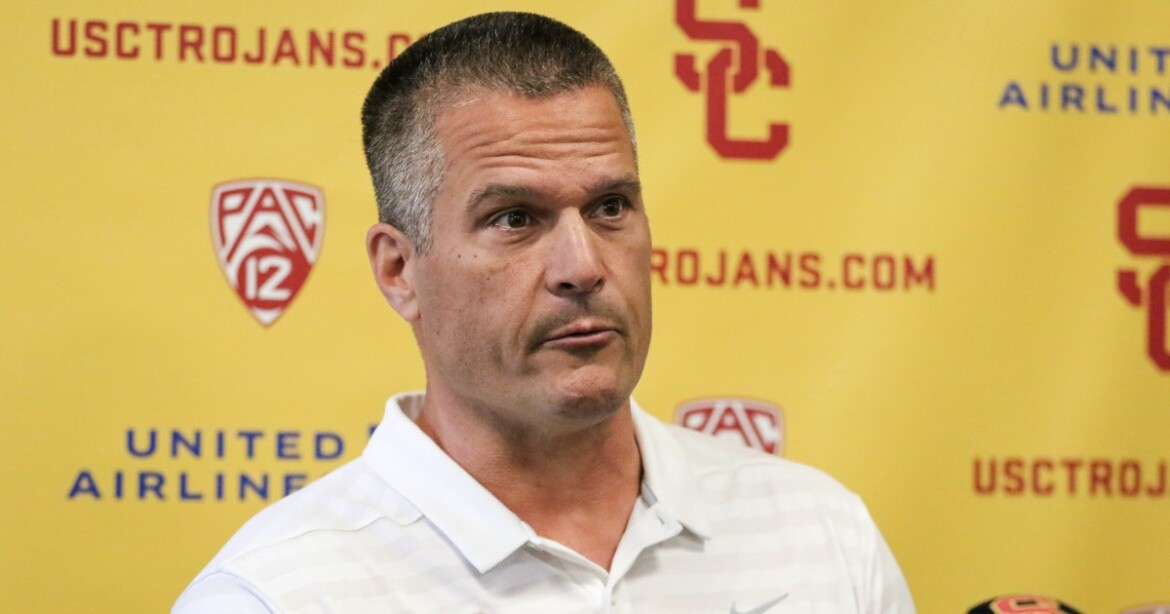 USC defensive coordinator Todd Orlando is happy to finally have a full spring camp