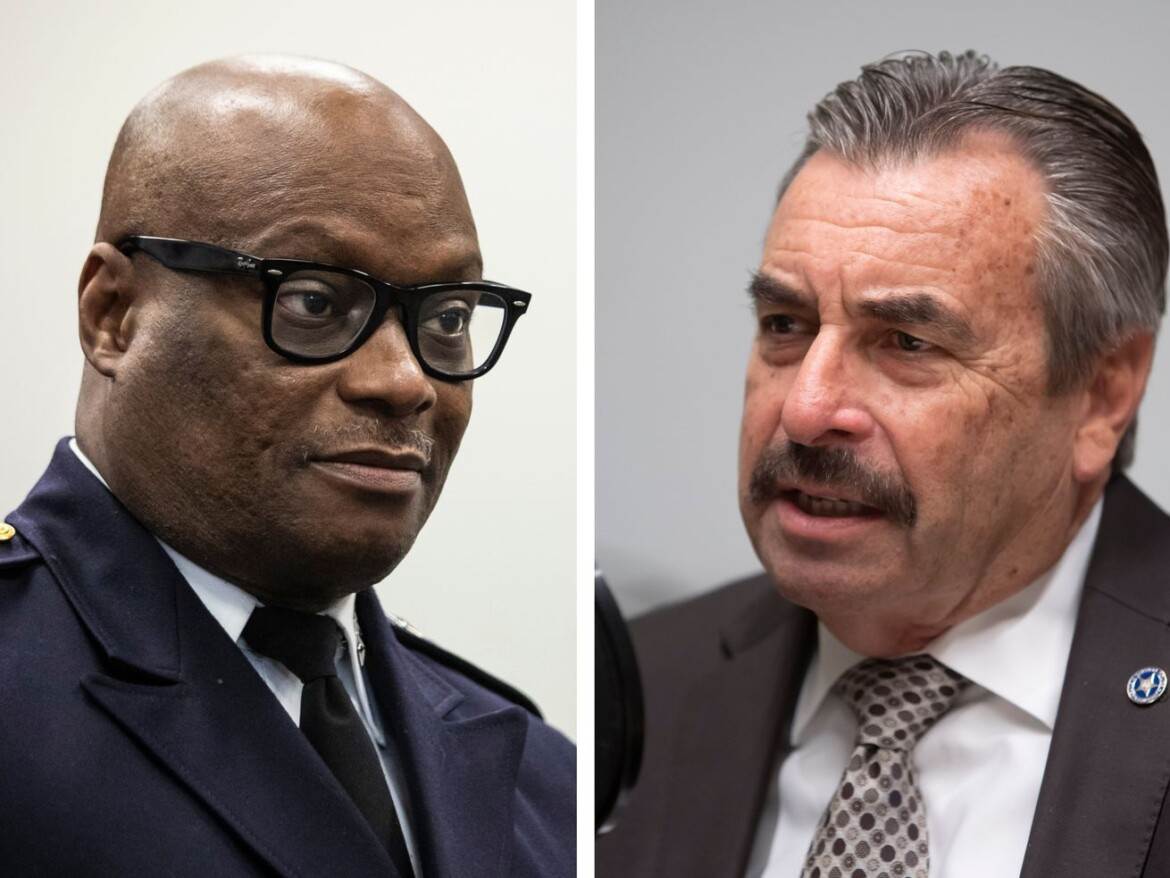 Top cops try to clear the air after Brown rips predecessor's strategies, dedication to police reform