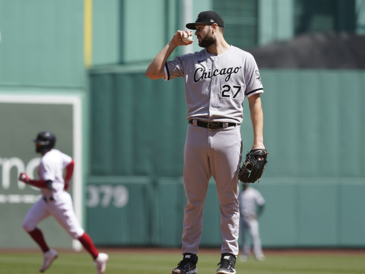 White Sox ace Lucas Giolito rocked for eight runs in one inning of work