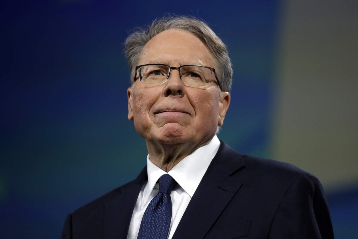 NRA boss says he didn't tell group leaders before bankruptcy