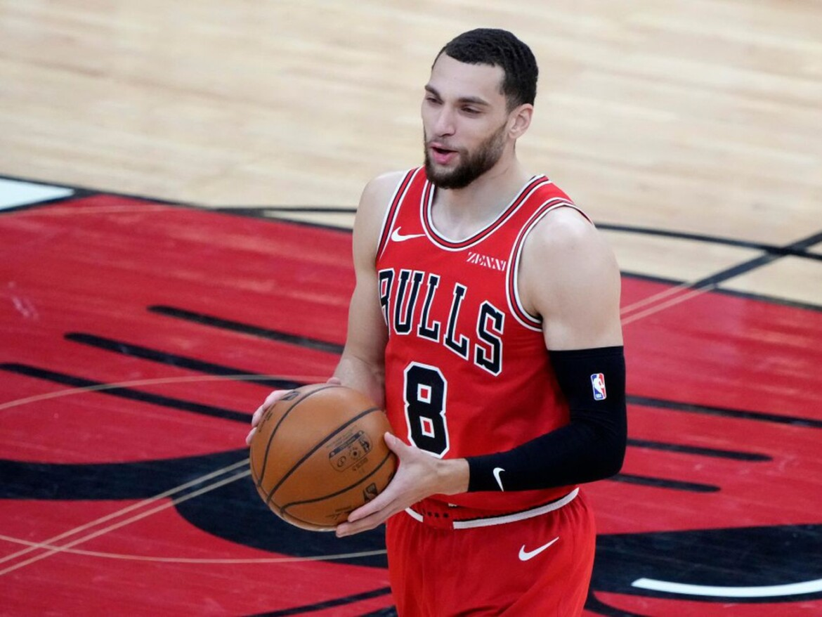 The return of the Bulls' Zach LaVine could be delayed even longer
