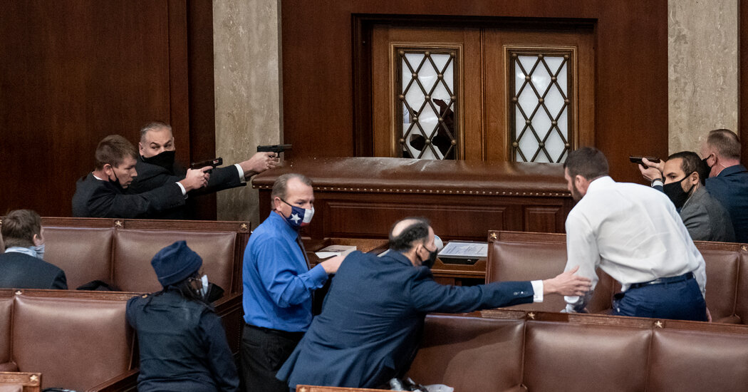 'There Was a Big Battle in Here': Lawyers Tour Capitol as a Crime Scene