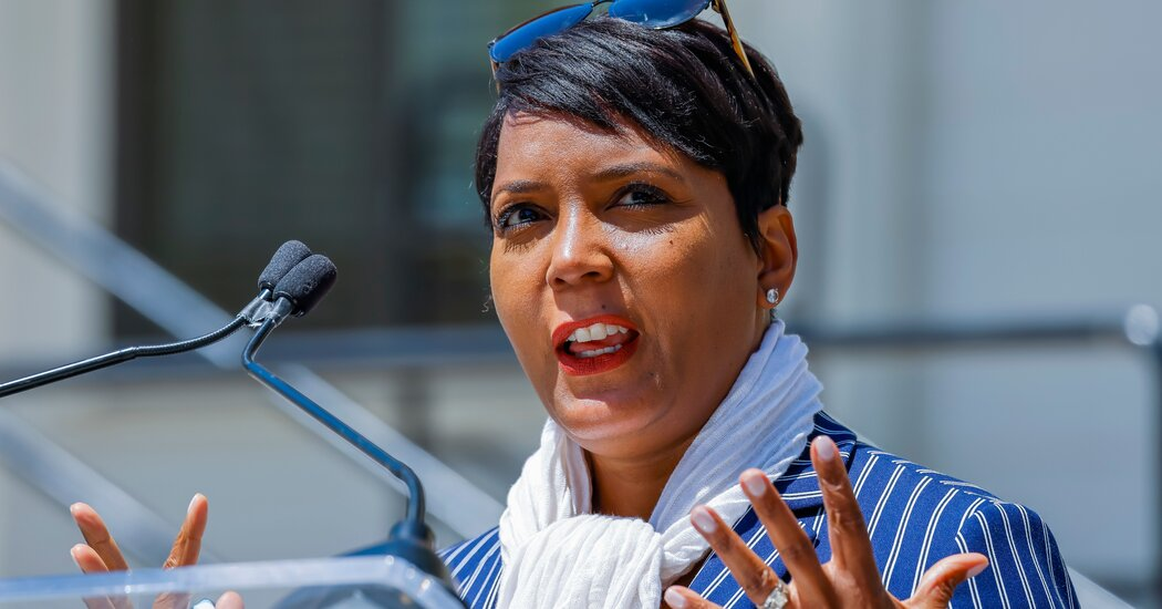 'Covid Crime Wave' Weighed Heavily on Atlanta Mayor