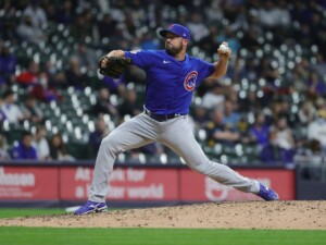 Cubs reliever Rex Brothers tells David Ross to give him a push when necessary