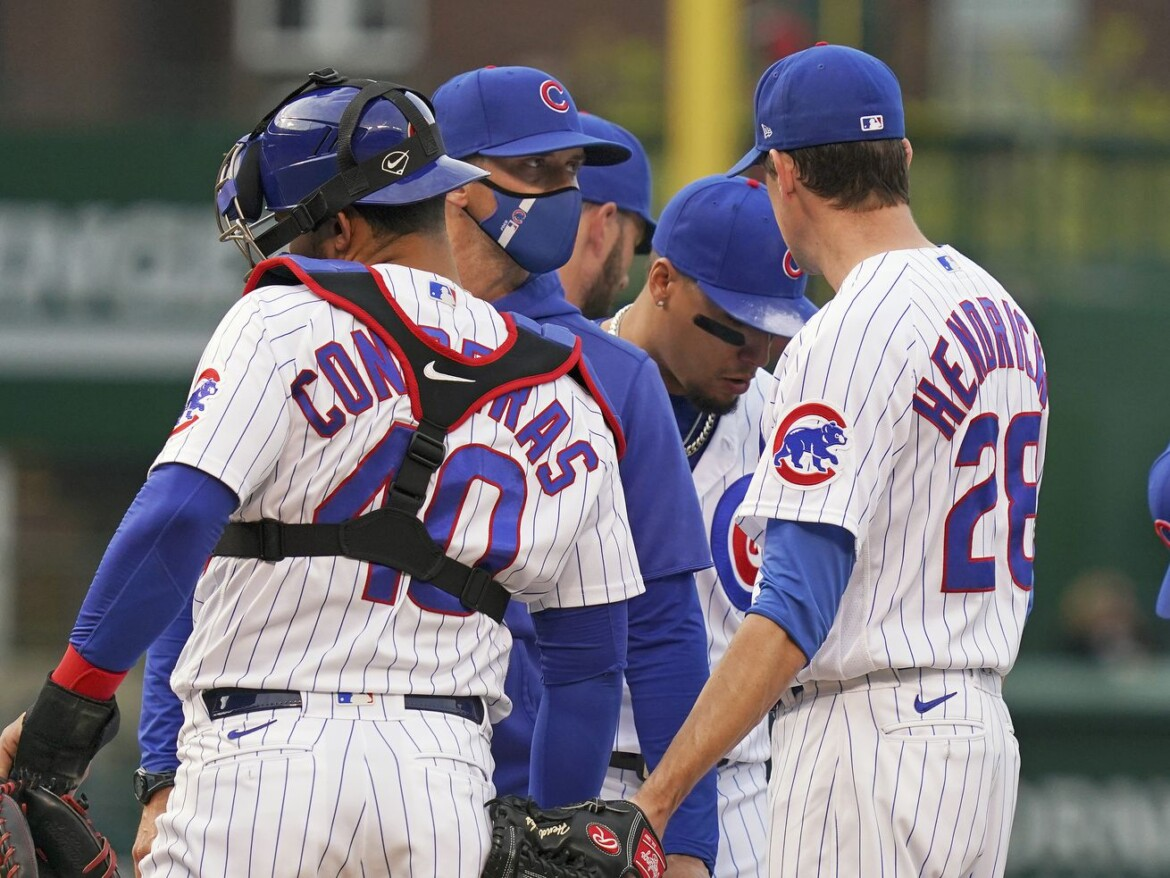 Cubs — .500 and ace-less — are going to Cleveland! OK, so it sounded better in 2016